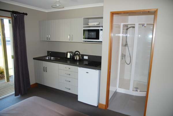 Kitchenette in our units